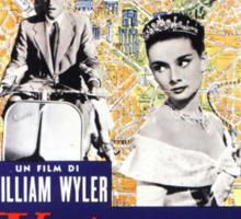Roman Holiday Audrey Hepburn Sticker