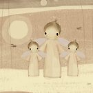 trio of angels by © Karin (Cassidy) Taylor