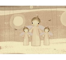 trio of angels Photographic Print