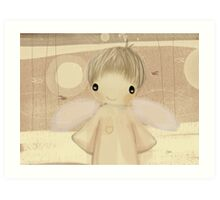 little angel Art Print
