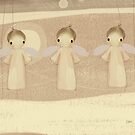 three little angels by © Karin (Cassidy) Taylor