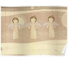 three little angels Poster