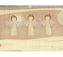 three little angels Photographic Print