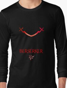 Berserker Eyes - Fate Zero Long Sleeve T-Shirt
