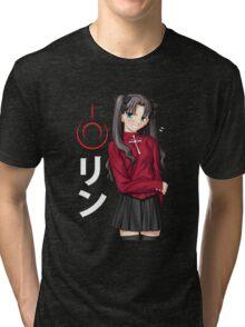 Rin Tohsaka Tri-blend T-Shirt