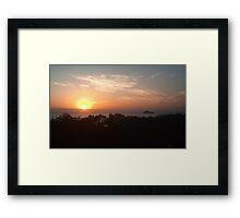 Australia - Sunshine Coast Sunrise Framed Print