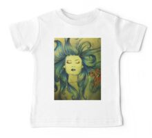 The Mermaid and the Fish Baby Tee