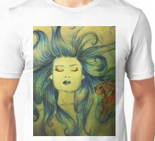 The Mermaid and the Fish Unisex T-Shirt