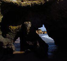 Rock Formation, Praia da Rocha by wiggyofipswich