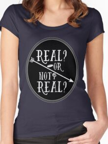 Real Women's Fitted Scoop T-Shirt