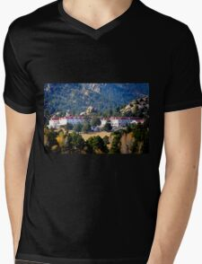 Stanley Hotel Mens V-Neck T-Shirt