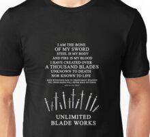 Unlimited Blade Works - Incantation Unisex T-Shirt