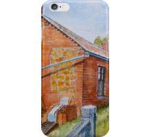 Abandoned red brick cottage near Maldon iPhone Case/Skin