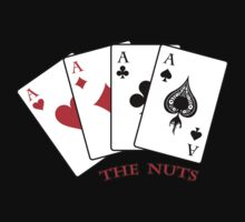 """The Nuts"" - Poker - Four Aces by Adam Gormley"