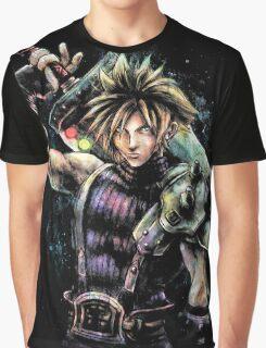 Cloud Painting Portrait  Graphic T-Shirt