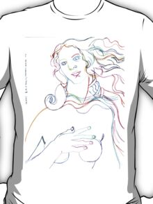 the rebirth of venus T-Shirt