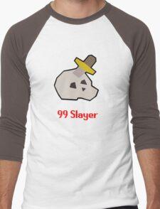 Runescape: 99 Slayer Men's Baseball ¾ T-Shirt