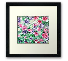 Swirly Dots by Jan Marvin Framed Print