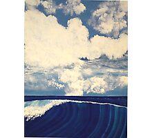 Debbies Blues Photographic Print