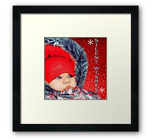SILENT WISHES-KIDS PICTURE..AND APPAREL... Framed Print