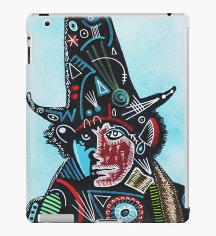 TOM BAKER THE WIZARD iPad Case/Skin