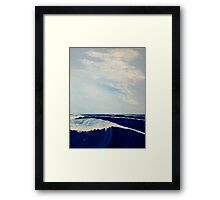 Storm Waves Framed Print