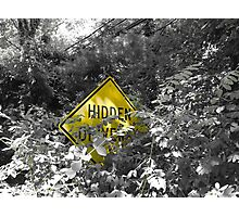 Hidden Irony Photographic Print