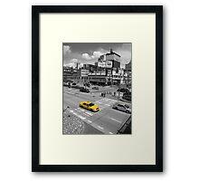 New York Taxi Framed Print