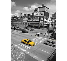 New York Taxi Photographic Print