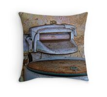 Washer And Wringer Throw Pillow
