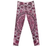 Mehndi Mandala Leggings