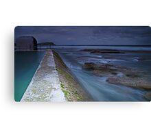 The Pumphouse Corner, Merewether Ocean Baths Canvas Print