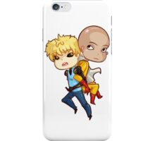 Saitama + Genos iPhone Case/Skin