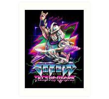 Shredd Live at the Technodrome in 1988 Art Print
