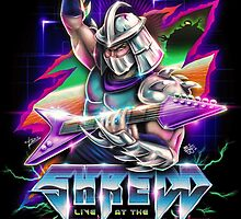Shredd Live at the Technodrome in 1988 by barrettbiggers