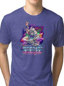 Shredd Live at the Technodrome in 1988 Tri-blend T-Shirt