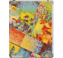 COLORFUL INDECISION 3 - Wild Vivid Rainbow Abstract Acrylic Painting Mixed Pattern Pretty Art Gift  iPad Case/Skin