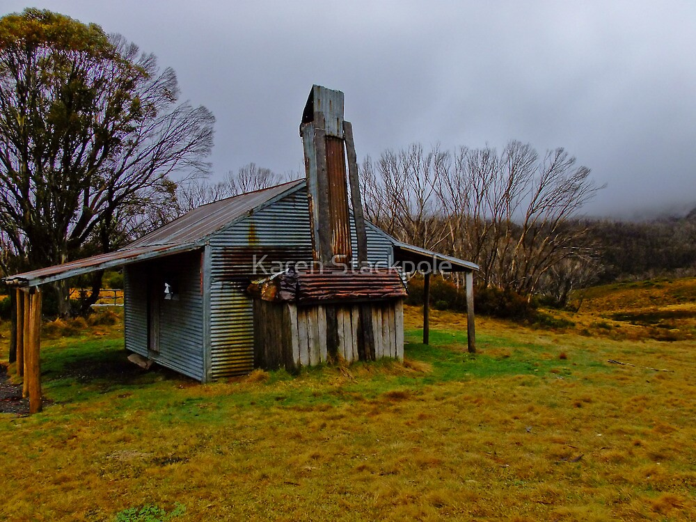 Hideaway in the snow - Jindabyne, NSW by Karen Stackpole