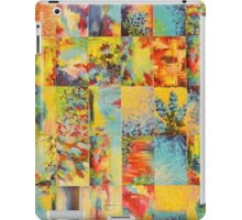 COLORFUL INDECISION 1 - Bold Bright Beautiful Abstract Acrylic Painting Collection Nature Rainbow iPad Case/Skin