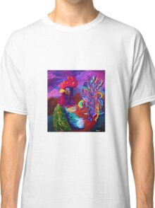Rooster on the Horizon Classic T-Shirt