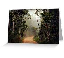 The mystical track  (ISO 500) (Near Townsville, Queensland) Greeting Card