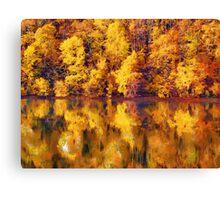 full of yellows Canvas Print