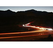 Garden of the Gods Traffic #1 Photographic Print