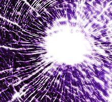 Purple shatter case (GLOW) by MrBliss4