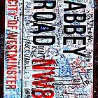 Abbey Road ipad case by Anthony  Poynton