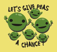Give Peas a Chance Kids Clothes