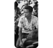 Faces of Kuta #03 ... Deep in thought iPhone Case/Skin