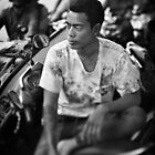 Faces of Kuta #03 ... Deep in thought by Malcolm Heberle