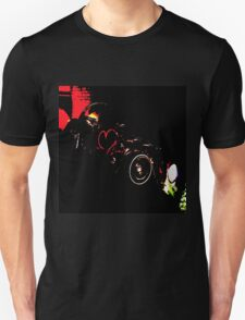 Instead of Scrapyard Heaven ~ 'Time' ~ black and red Unisex T-Shirt