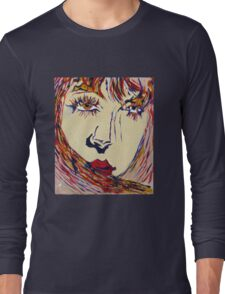 unknown woman RB Long Sleeve T-Shirt